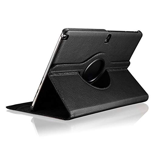 Samsung Galaxy Note Pro 12.2 & Tab Pro 12.2 Rotating Case Cover - Vegan Leather 360 Degree Swivel Stand for NotePRO (SM-P900) & Tab PRO (SM-T900/T905) 12.2-inch Android Tablet