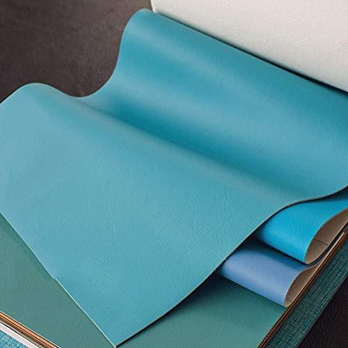 polipiel PU Tela de imitación El cuero impermeable Faux Tela de cuero suave material Feel por el medidor conveniente for la tapicería 54' de ancho (140 cm) 0.88mm espesor 1piece = 100cm ( Color : 2# )