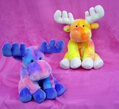 Tie Dye Moose 8 By Wishpets - Choose Your Farbe, One Moose Only by Wishpets