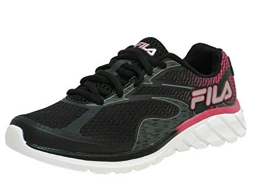 Fila Womens Memory Primeforce 4 Athletic Shoes 9 Black/hot Pink