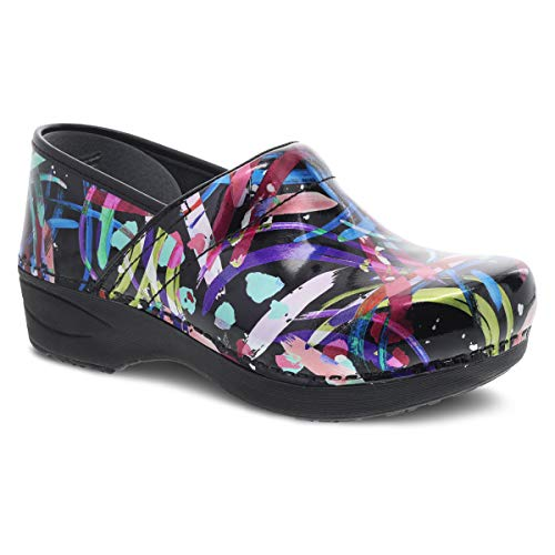 Dansko Women's XP 2.0 Multi Brushstroke Clogs 11.5-12 M US