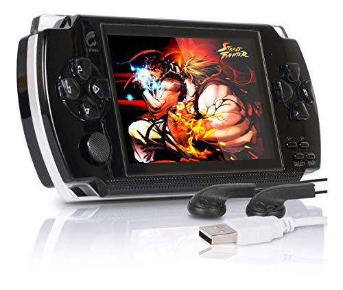 Mini Vídeo Game Portátil Retrô + 3.000 Jogos Super Nintendo Preto