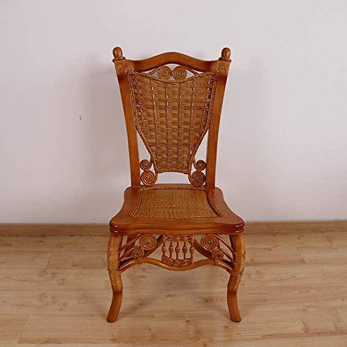 NBVCX Decoración de Muebles Mesa y sillas de Comedor de ratán Restaurante Chino Mesa y sillas de ratán Comedor de ratán Natural Mesa y sillas de Comedor de ratán
