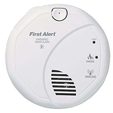 First Alert SA521CN ONELINK Hardwire Wireless Smoke Alarm with Battery Backup