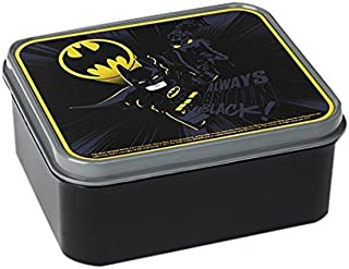 LEGO Batman Lunch Box, Food Container - Black