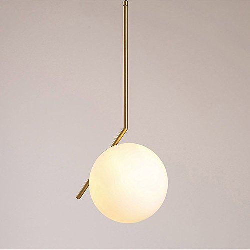 BBSLT Modern chandelier creative single glass ball chandelier,A