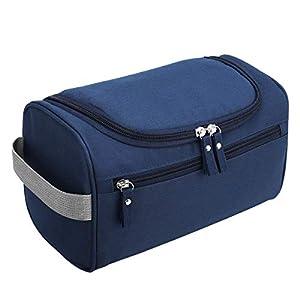 Bolsas de Aseo Neceser de Viaje Mujer Hombre Neceser para Colgar con con el Gancho Colgante Impermeable y Plegable Bolsa…