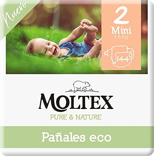 Moltex Pure & Nature Pannolini ecologici taglia 2 (3-6 kg) - 144 pannolini
