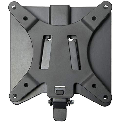 VIVO Adapter VESA Mount Quick Release Bracket Kit, Stand Attachment and Wall Mount Removable VESA Plate for Easy LCD Monitor and TV Screen Mounting, Stand-VAD2