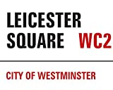The London Nº1 Lienzo Londres Leicester Square, Multicolor 40x 50cm