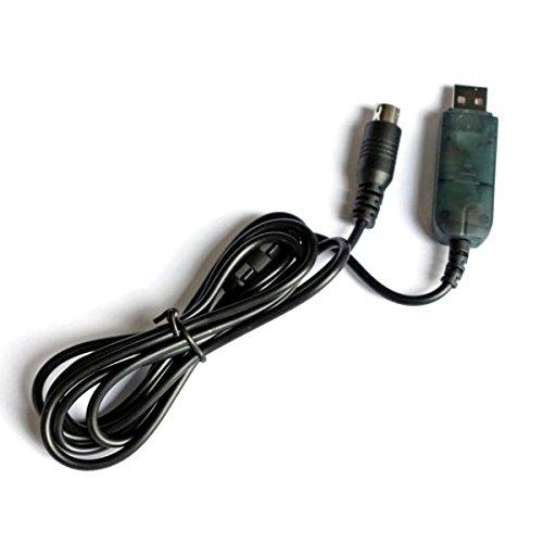 VIDOO Cable De Datos De La Línea De Descarga USB para La Actualización del Firmware del Transmisor FS-I6 FS-T6