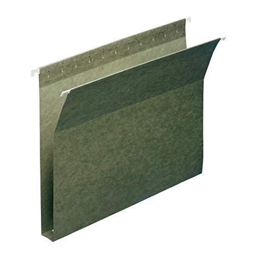 "Smead Box Bottom Hanging File Folder, 1"" Expansion, Letter Size, 25 per Box (64239)"