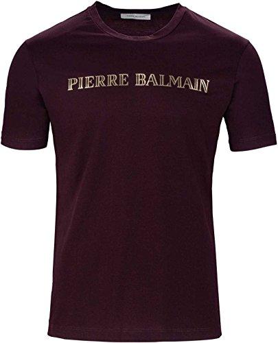 Pierre Balmain Herren T-Shirt, Schwarz 48