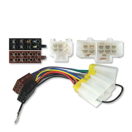 ISO STEREO ADAPTOR WIRING LEAD NISSAN Micra (83-00): Amazon ... on