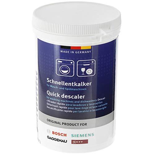 Bosch Descalcificador universal original para lavadora y lavavajillas (250 g)