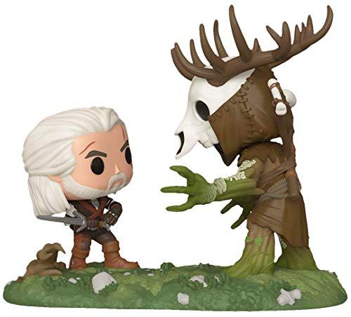 Funko Pop! The Witcher III Wild Hunt Geralt Vs Leshen Insider Club Exclusive Game Moment