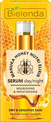 Bielenda MANUKA HONEY NUTRI ELIXIR Nourishing Face Serum Day/Night 30ml