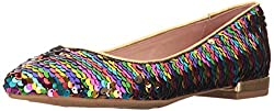 Rainbow Sequins Gavin Pointed Toe Flat