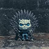 Funko- Pop Deluxe: Game of S10: Night King Sitting on Throne Figura Coleccionable, Multicolor (37794)