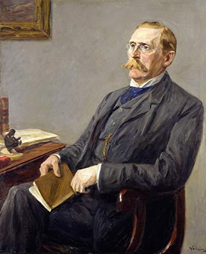 Berkin Arts Max Lievermann Giclée Leinwand Prints Gemälde Poster Reproduktion(Wilhelm Bode)