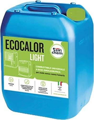 Combustibile per stufe unversale inodore SaviChem Ecocalor 18lt