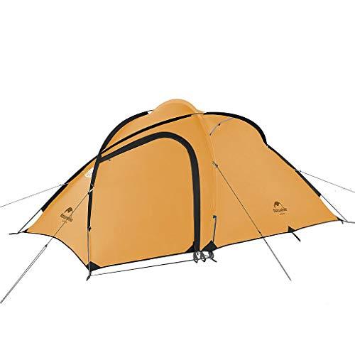 Naturehike Hiby3 2-3人用/Hiby4 4人用キャンプ テント 2019Q3アップグレード版 アウトドア登山テント ゆったり前室 タープスペース付き二層構造 防雨 防風 防災 グラウンドシート付き