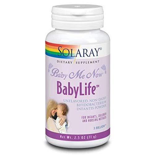 Solaray Babylife 3 Billion Probiotic Supplement | 2.5 Ounce