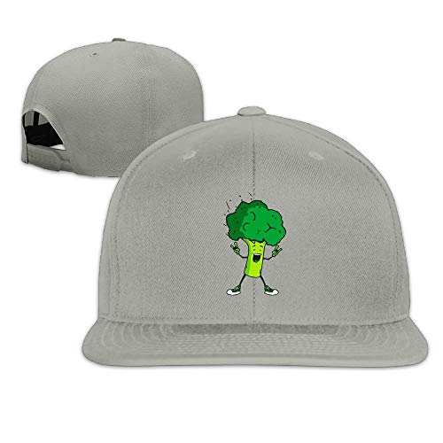 Broccoli Rocks Baseball Cap Men & Women Flatbrim Adjustable Vintage Snapback Hats