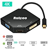 Ruipoo Thunderbolt Adapter Mini DisplayPort 4K...