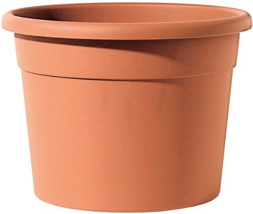 Telcom ICIL 18 Terra ICIL 18 T Pot à Plante Cilindro Diana Cylindrique Plastique Terre Cuite Ø 18 x 13 cm