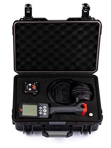 Detectortek LuxCase - Carcasa rígida para Minelab Equinox 600/800