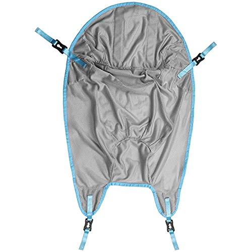 Arnés Elevación Paciente Cuerpo Comple, Eslinga de elevación de paciente de altura ajustable, para transferir de la cama a la silla de ruedas, sillón reclinable, ancianos de enfermería, discapacitados