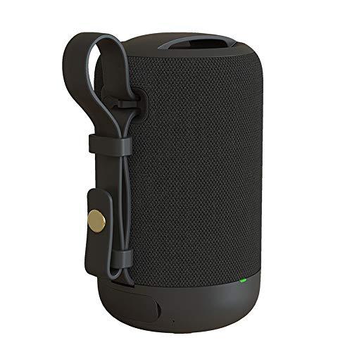 Bluetooth Speaker, Waterdichte Wireless Speaker Portable Audio Player Radio Subwoofer HIFI Sound Hands-Free Bellen, Huis Car Outdoor Travel,Black