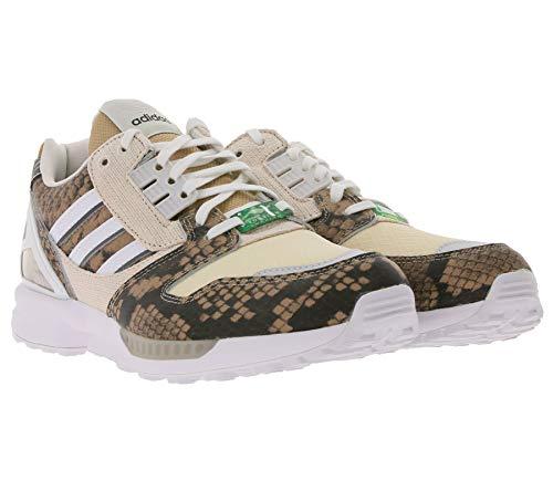 Adidas Originals ZX 8000 Sneaker eleganti scarpe da ginnastica basse basse scarpe per il tempo libero, colore beige/bianco, Beige (beige.), 37 1/3 EU