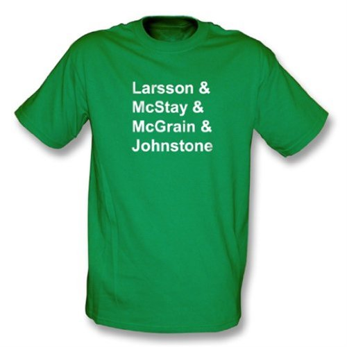 Punk Football Celtic Legends t-shirt XX-Large Kelly Green