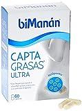 BiManán Ultra - Complemento Alimenticio Captagrasas con Nopal que ayuda a Absorber Grasas y Azúcares y a Controlar el Apetito - 60 Cápsulas