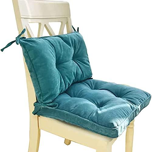 TLMYDD Juego de 2 Cojín del Asiento cómodo Blandura,Cojín Universal para Asientos de Oficina/hogar/automóvil y Todas Las sillas,Respaldo Antideslizante(43x43cm/17x17in)