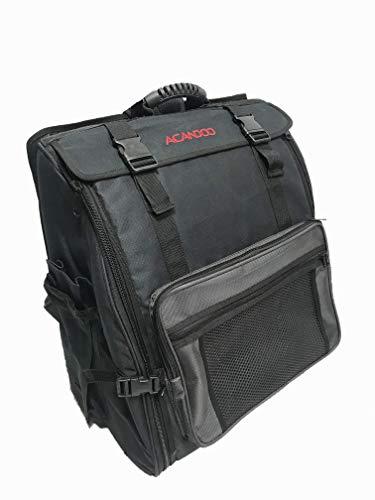 Acandoo Akkordeon Trolly Trolley Rucksack Tasche Gigbag 120 Bass