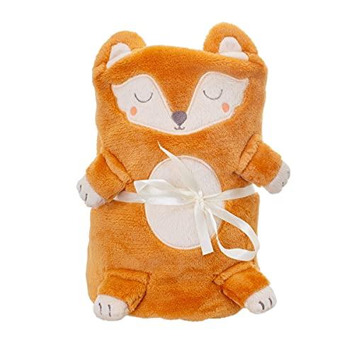 Sass & Belle Woodland Fox Baby Blanket
