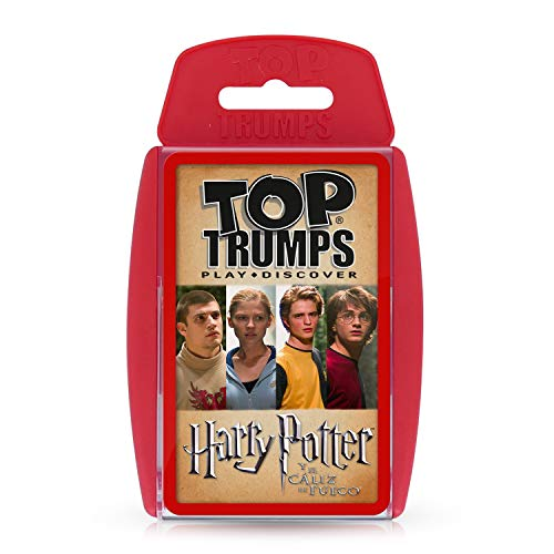 HARRY POTTER Trumps Harry Potter y el Caliz de Fuego, rojo (ELEVEN FORCE 1)