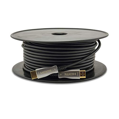 SatelliteSale Active High-Speed Fiber Optic HDMI 2.0 Cable, Supports...