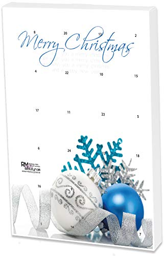 Nail Art e Farbgel Calendario dell' Avvento di Natale x-Mas con 12 brillantini e 12 Premium farbgelen von RM Beauty Nails