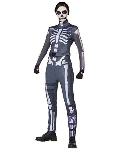 Spirit Halloween Adult Skull Ranger Fortnite Costume   Officially Licensed - S