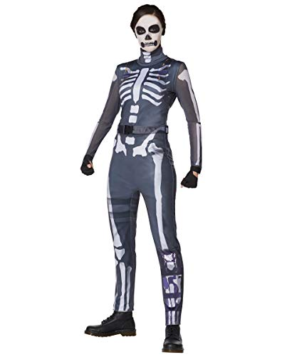 Spirit Halloween Adult Skull Ranger Fortnite Costume | Officially Licensed - S
