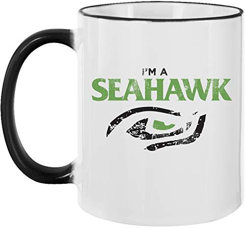 Ezyshirt® I´am a Seahwawk vol. 2 | American Football Kaffeetasse Kaffeebecher