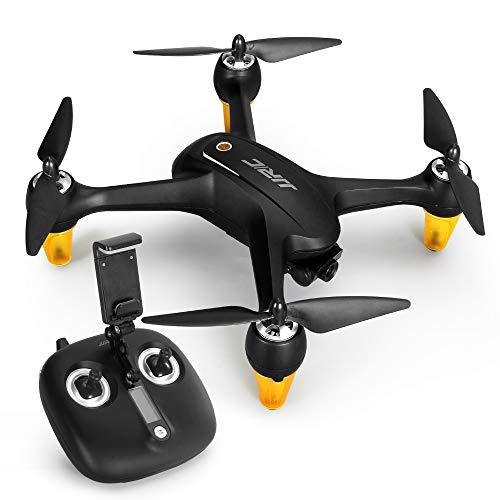 Q&N Drohne mit Kamera, Dual-GPS-Positionierung 5G 1080P Weitwinkelkamera Brushless Motor Fernbedienung Vier-Achsen-Flugzeug