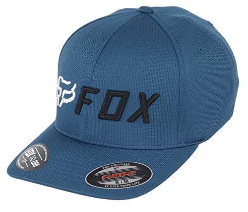Fox Apex Flexfit - Gorra, color azul