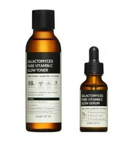 SOME BY MI Galactomyces Pure Vitamin C Glow Toner 200ml & Serum 30ml