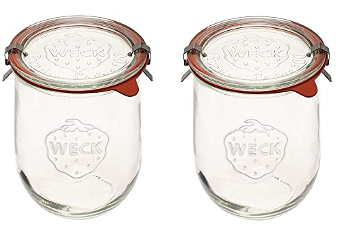 Weck Jars - Weck Tulip Jars 1 Liter - Large Sour Dough...