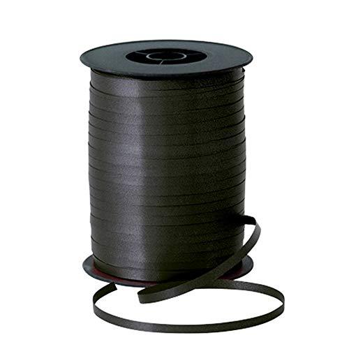 Qualatex 593594 Ruban noir 5 mm x 500 m, couleur